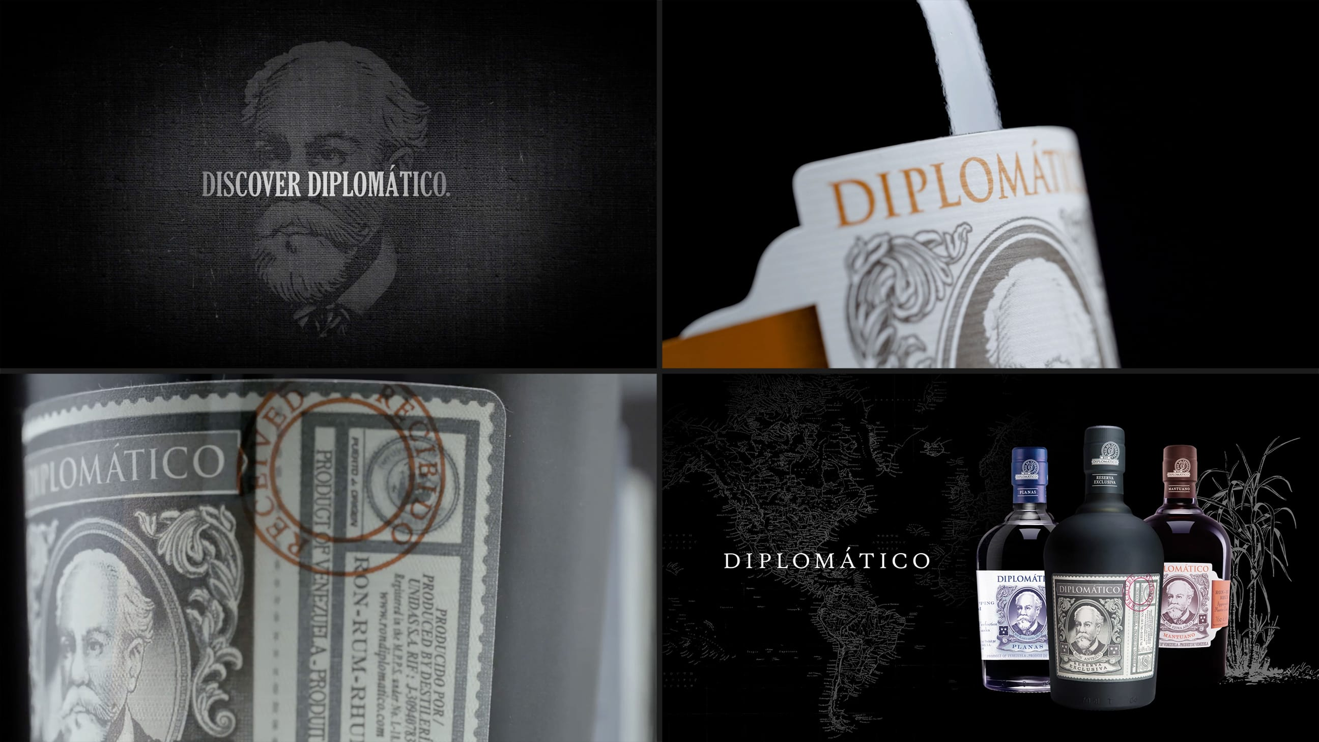 Design and production of Ron Diplomático | Croma Studio 1